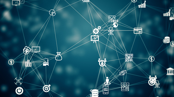 internet of things, symbol of IT industry