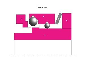 Figure 1a + 1b: Schema semplificato di un limitatore di coppia con arresto a sfere.