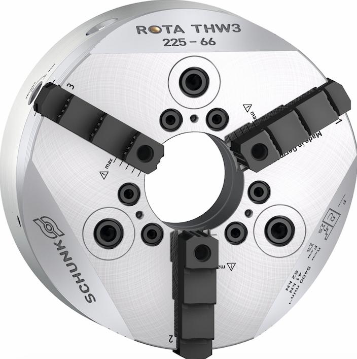 I mandrini autocentranti ROTA THW3 e ROTA-M flex 2 + 2 sono completamente a tenuta stagna